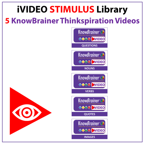iVIDEOS™ KnowBrainer STIMULUS Library of 5 MP4 Videos (Digital HD Download) - SOLUTIONSpeopleSTORE