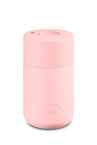 Frank Green Reusable Travel Cup - Reusable Stylish Travel Coffee Mug Blush
