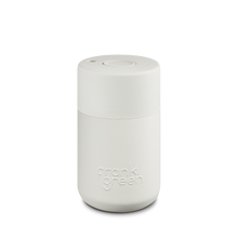 Load image into Gallery viewer, Frank Green Reusable Travel Cup - Reusable Stylish Travel Coffee Mug Coconut Milk White