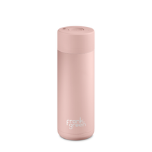 Load image into Gallery viewer, Frank Green Reusable Water Bottle, stylish, reusable and eco friendly. Leak proof, stainless steel water bottle. Nude Rose