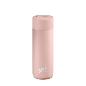 Frank Green Reusable Water Bottle, stylish, reusable and eco friendly. Leak proof, stainless steel water bottle. Nude Rose