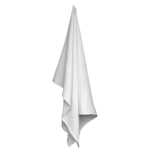 Luxury organic cotton towel and blanket from The Organic Company. Natural White