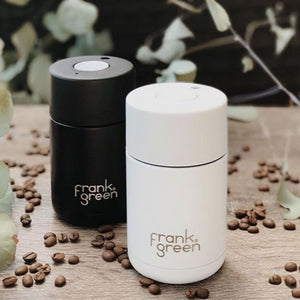 Frank Green Reusable Travel Cup - Reusable Stylish Travel Coffee Mug