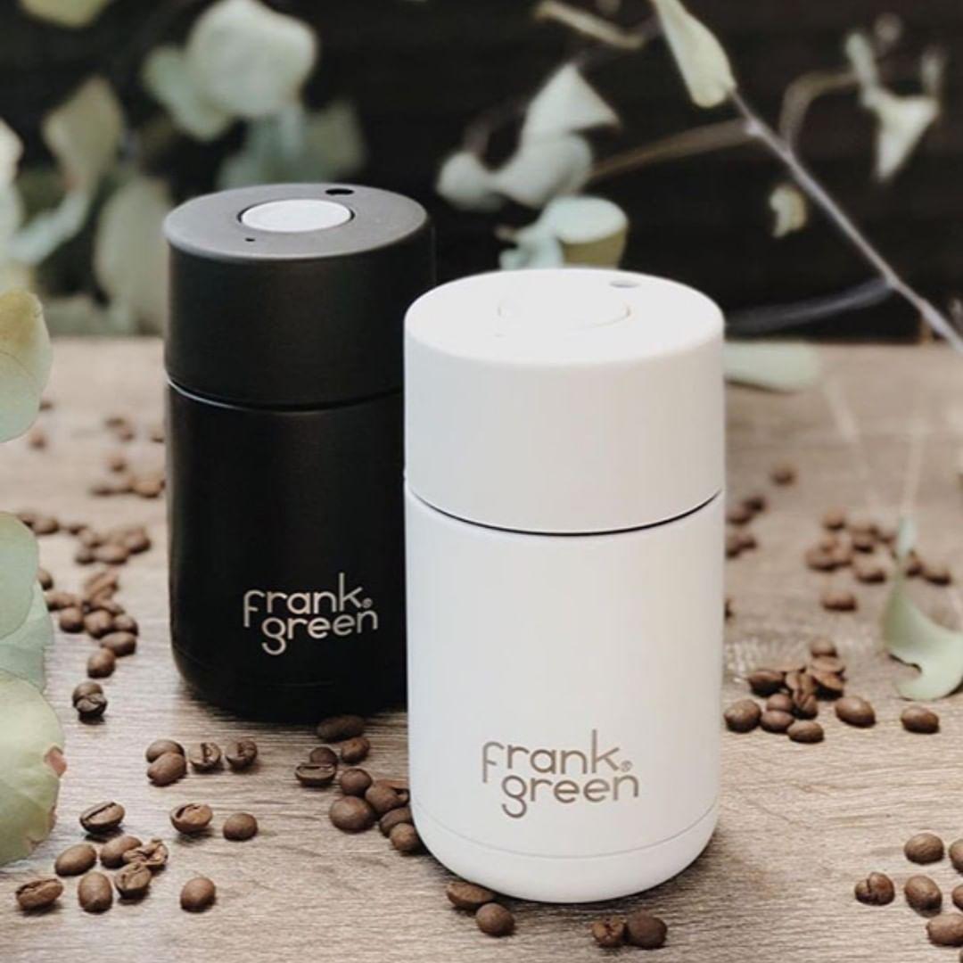 Frank Green Reusable Travel Cup Stylish Coffe Cups Noteworthy Style