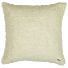 Load image into Gallery viewer, Linen Cushion Cover - Handmade Luxury Fairly Traded. Off White