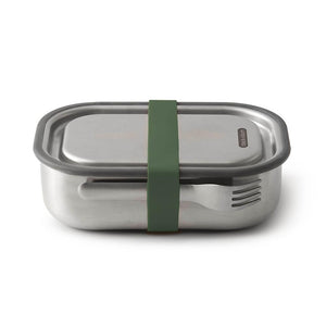 Leak proof stainless steel vacuum sealed lunch boxes. Eco friendly and reusable.