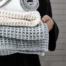 Load image into Gallery viewer, Luxury organic cotton hand towel from The Organic Company.
