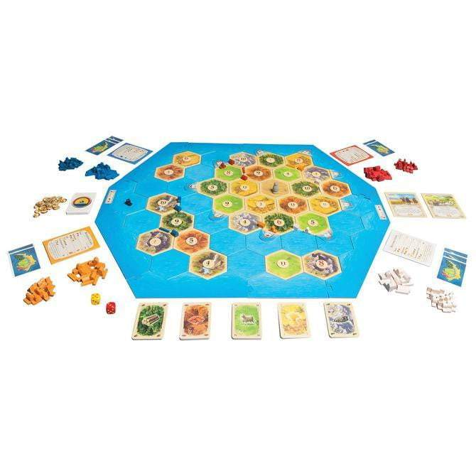 Catan Seafarers Expansion 5th Edition Board Game Board Game