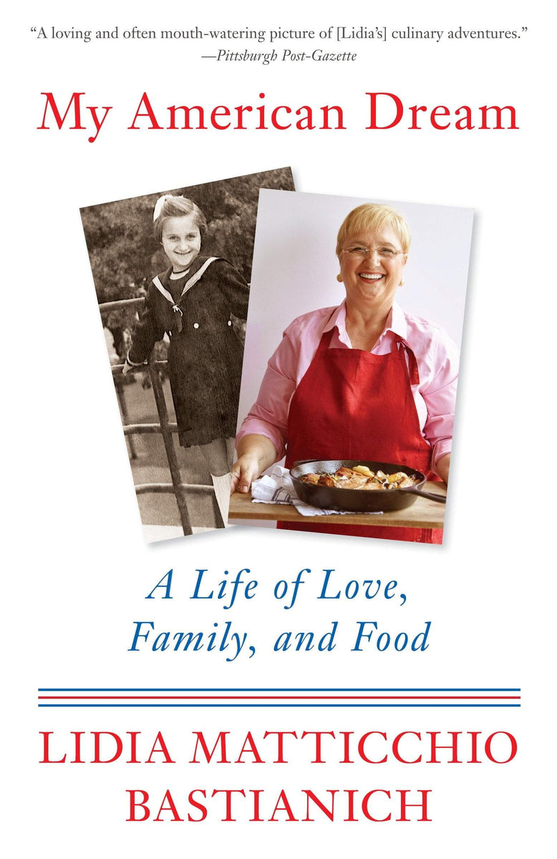 My American Dream : A Life of Love, Family, and Food - The Reading Nook