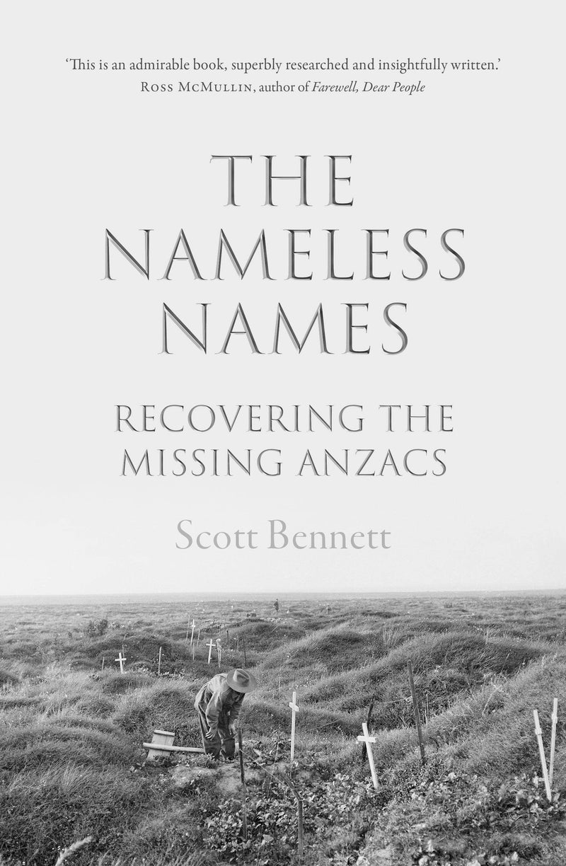 The Nameless Names: Recovering the Missing Anzacs - The Reading Nook