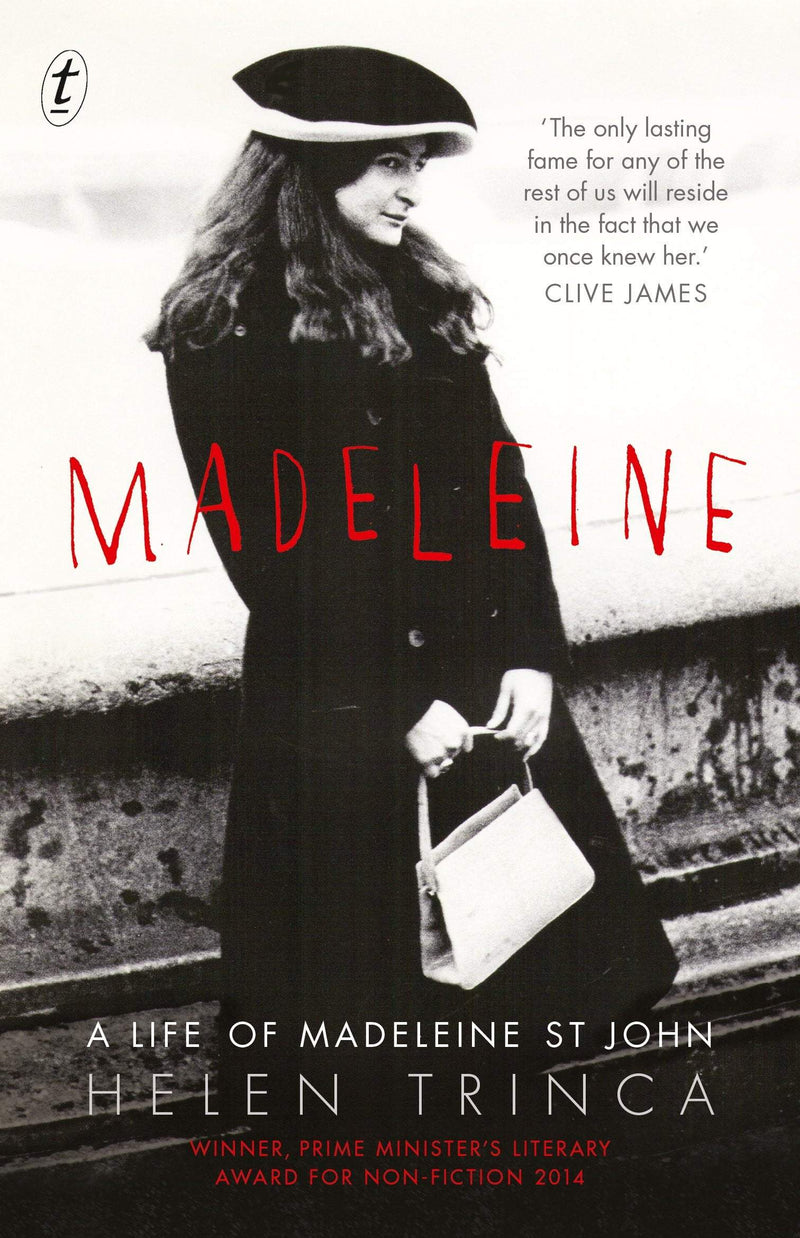 Madeleine: A Life of Madeleine St John - The Reading Nook