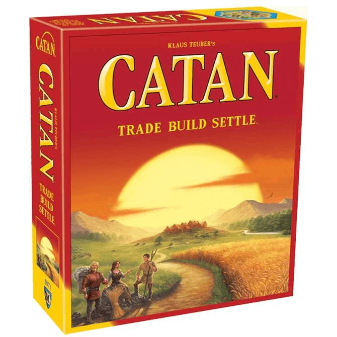 Catan: 5th Edition Board Game - The Reading Nook