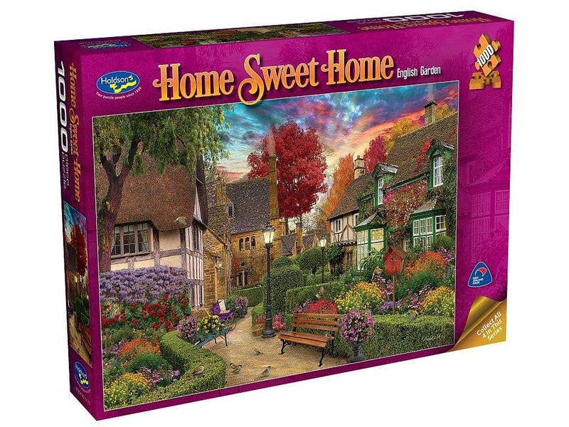 Holdson Sweet Home 2 English Garden 1000 Piece Puzzle - The Reading Nook