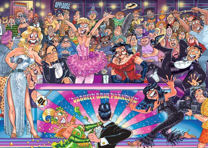 Wasgij Original 30 Can't Dance 1000 Piece jigsaw Puzzle Puzzle