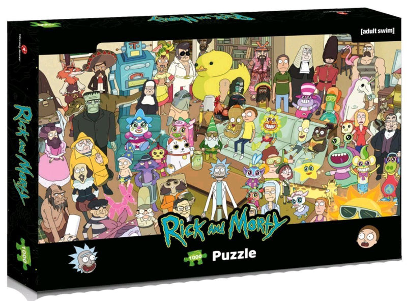 Rick & Morty 1000 Piece Jigsaw Puzzle
