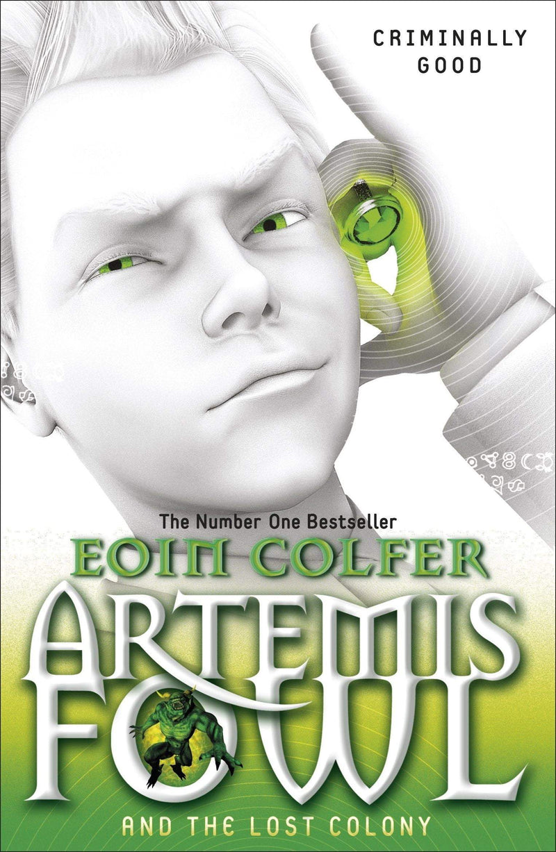 Artemis Fowl And The Lost Colony - The Reading Nook
