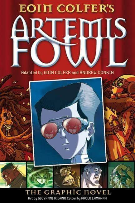 Artemis Fowl : The Graphic Novel - The Reading Nook