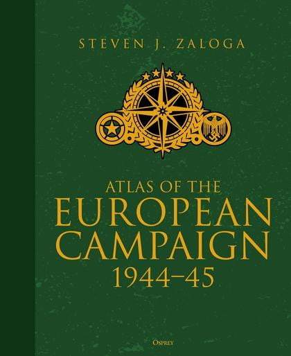 Atlas of the European Campaign : 1944-45 - The Reading Nook