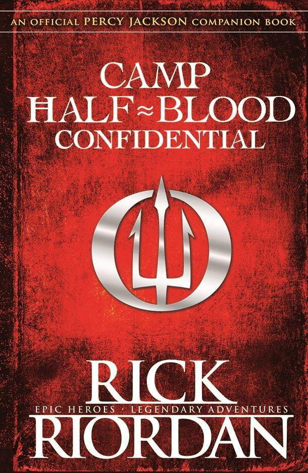 Camp Half-Blood Confidential - The Reading Nook