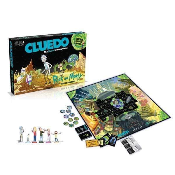 Cluedo: Rick & Morty Edition Board Game - The Reading Nook