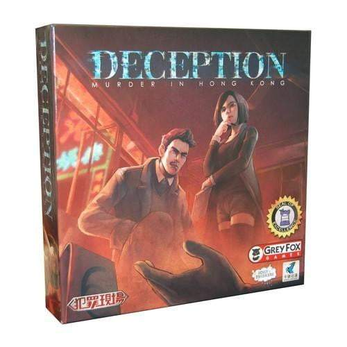 Deception Murder in Hong Kong Board Game - The Reading Nook