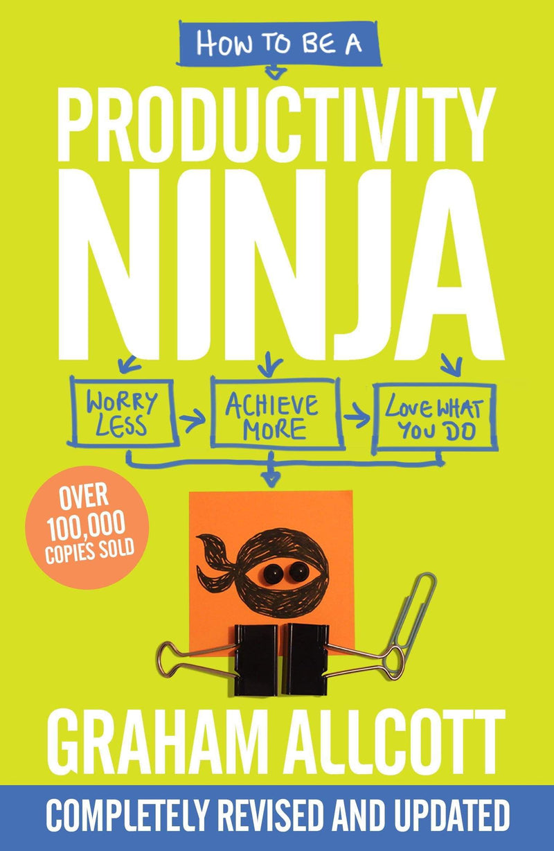 How to be a Productivity Ninja : Worry Less, Achieve More and Love What You Do - The Reading Nook