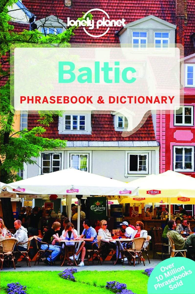 Lonely Planet Baltic Phrasebook & Dictionary - The Reading Nook