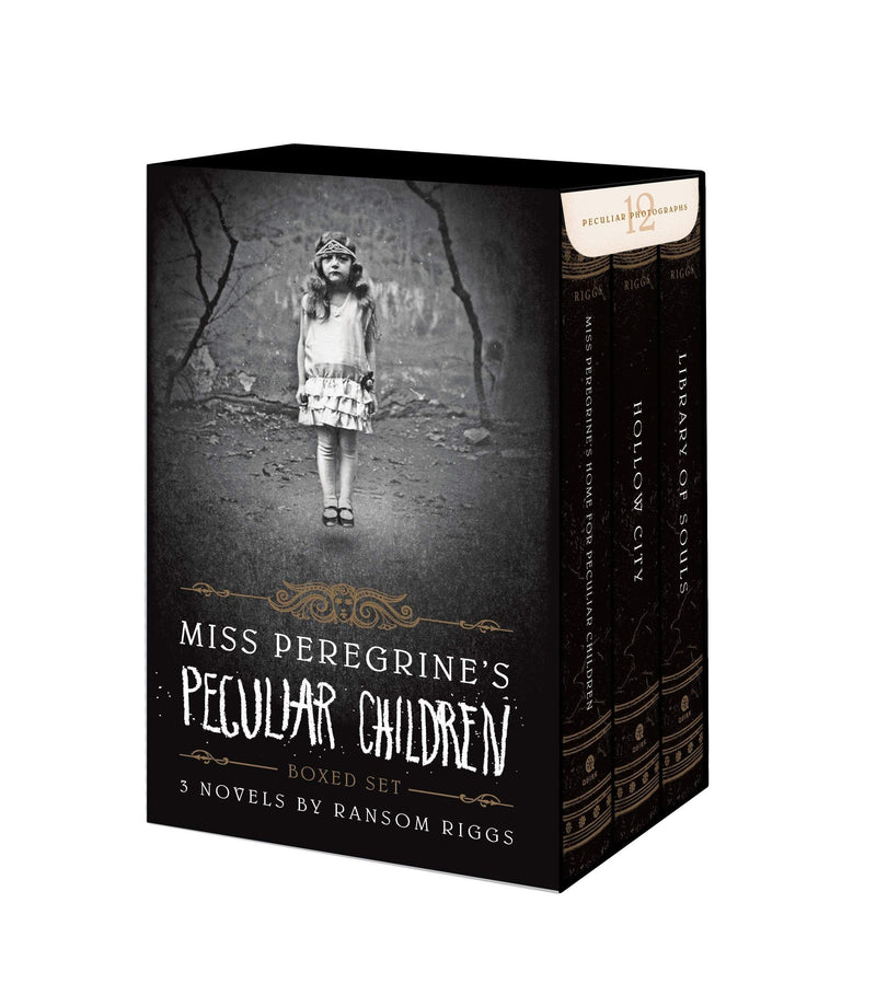Miss Peregrine's Peculiar Children Boxed Set - The Reading Nook