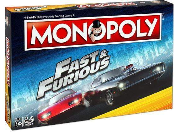 Monopoly: Fast & The Furious Edition Board Game - The Reading Nook