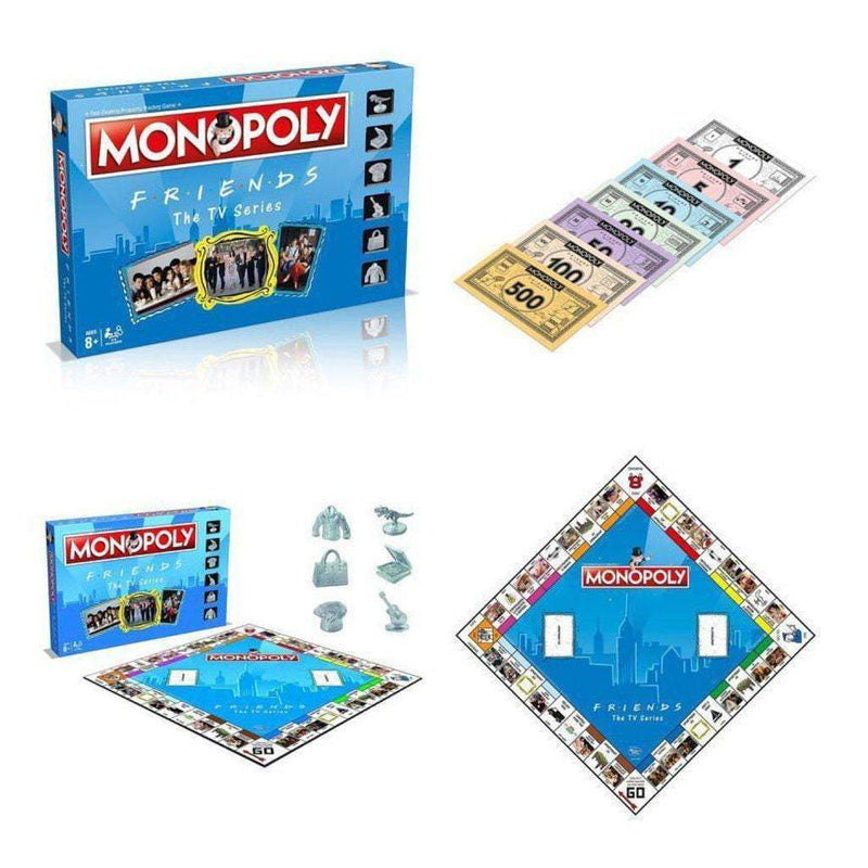 Monopoly: Friends Edition Board Game - The Reading Nook