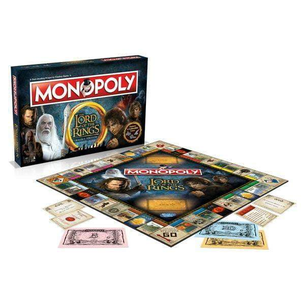 Monopoly: Lord of the Rings Edition Board Game - The Reading Nook