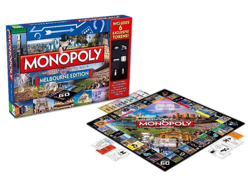 Monopoly: Melbourne Edition Board Game Board Game