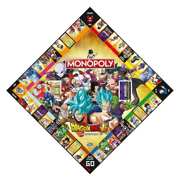 Monpoly: Dragon Ball Super Edtion Board Game - The Reading Nook