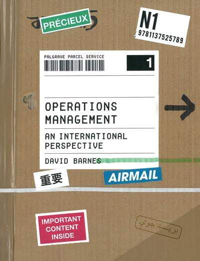 Operations Management Paperback / softback