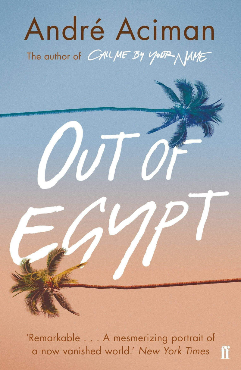 Out of Egypt - The Reading Nook