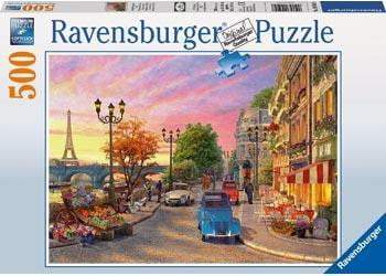 Ravensburger - A Paris Evening 500 Piece Jigsaw Puzzle Puzzle