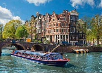Ravensburger - Canal Tour in Amsterdam Puzzle 1000pc - The Reading Nook
