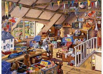 Ravensburger - Grandma's Attic Puzzle 500pc - The Reading Nook