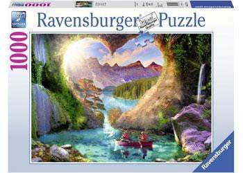 Ravensburger - Heartview Cave Puzzle 1000pc - The Reading Nook