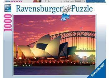 Ravensburger - Opera House Harbour Bridge Puzzle 1000pc - The Reading Nook