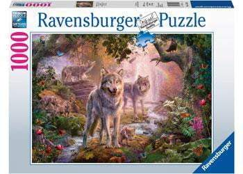 Ravensburger - Summer Wolves Puzzle 1000pc - The Reading Nook