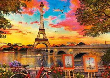 Ravensburger - The Banks of the Seine Puzzle 1000pc - The Reading Nook