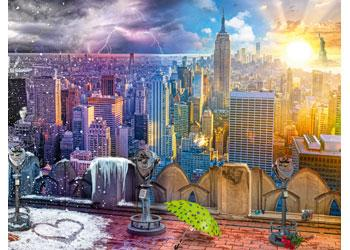 Ravensburger - Seasons of New York 1500 Piece Jigsaw Puzzle - The Reading Nook