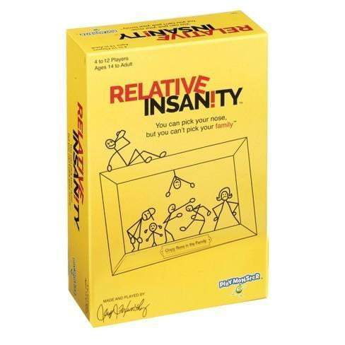 Relative Insanity Card Game - The Reading Nook