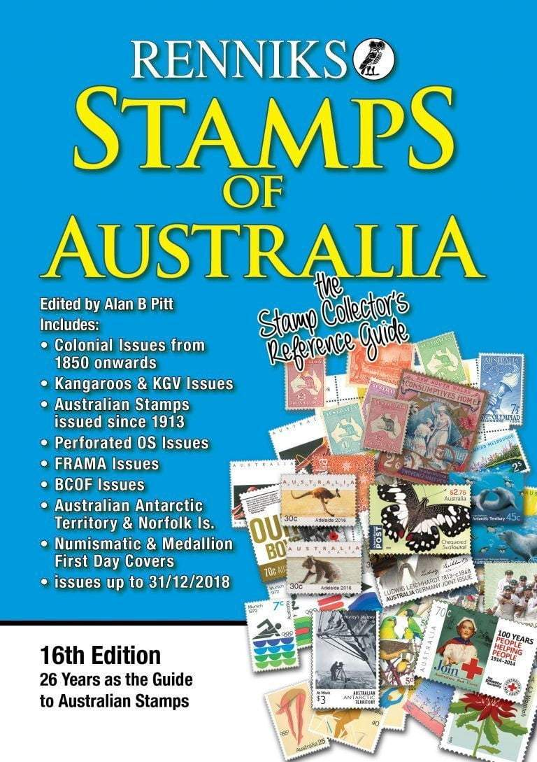Renniks Stamps of Australia 16th Edition - The Reading Nook