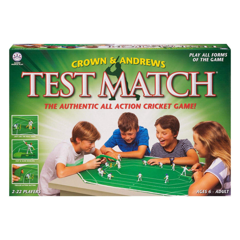 Test Match Game Board Game