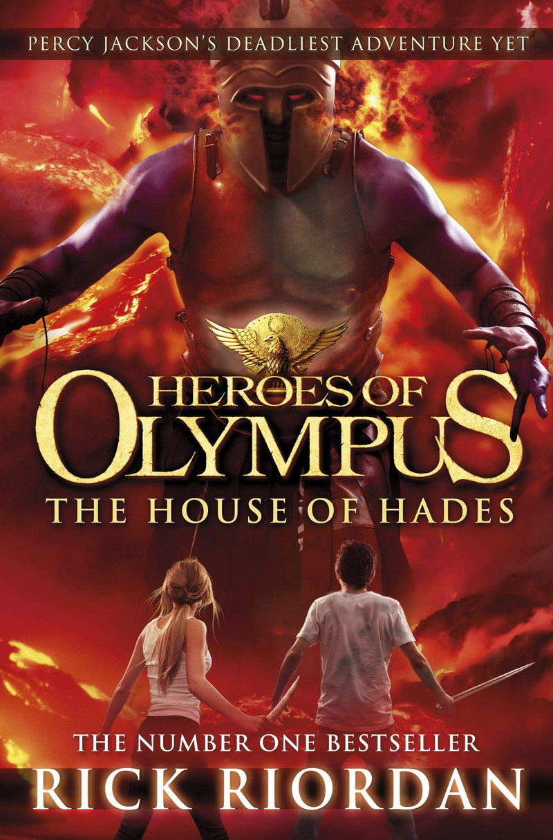 The House Of Hades (Heroes Of Olympus Book 4) - The Reading Nook