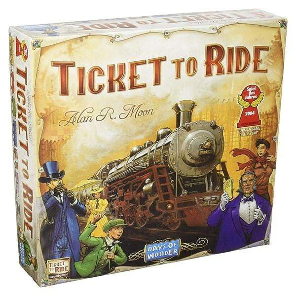 Ticket to Ride - The Reading Nook