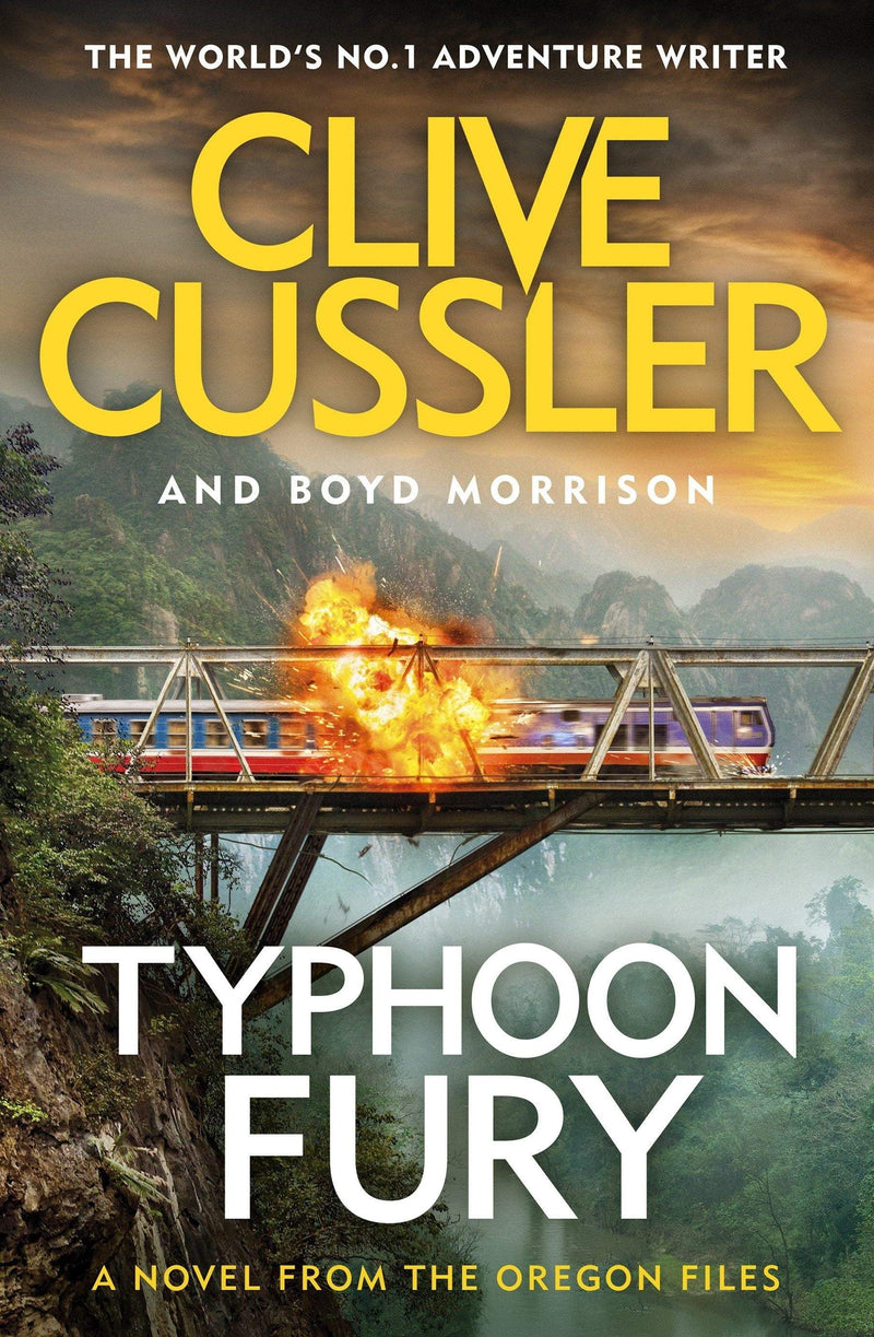 Typhoon Fury: Oregon Files 12 - The Reading Nook