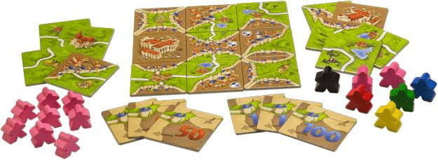 Carcassonne Expansion 1: Inns & Cathedrals Board Game